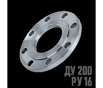 Фланец плоский стальной Ру 16 Ду 200 (219)