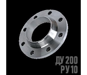 Фланец воротниковый стальной Ру 10 Ду 200 (219)