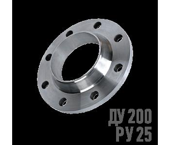 Фланец воротниковый стальной Ру 25 Ду 200 (219)
